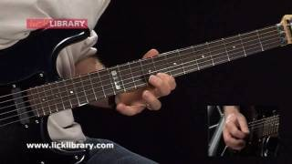 Jimmy Page Style - Quick Licks Volume 2 Guitar Lessons With Danny Gill