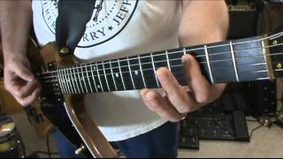 Heavy Metal & Hard Rock Basic Rhythm Guitar Lessons. 1 Finger Chords & Drop D Tuning By Scott Grove