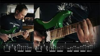 *NEW* Classic Metal Workout - Guitar Lesson - How to play in style of Iron Maiden, Dio, Rainbow...
