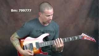 Shred rock guitar lesson Shawn Lane inspired picking techniques and exercises and killer licks