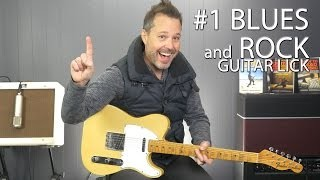 The #1 Blues and Rock Guitar Lick