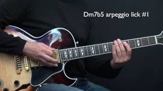 How to Improvise - Basics Part 5 - Dm7b5 - Lesson by Achim Kohl