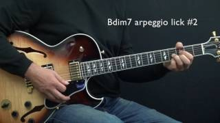 How to Improvise - Basics Part 6 - G7b9 - Lesson by Achim Kohl