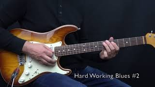 "Hard Working Blues 1 - 3 from my book ""Bluesmans Corner 1"" - Achim Kohl"