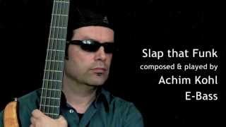 Slap that Funk - Funky Electric Bass Guitar