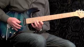 Basic Extended Jazz Rock Fusion Guitar Arpeggios #3