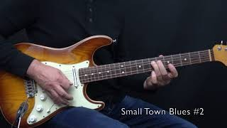 "Small Town Blues 1 - 3 from my book ""Bluesmans Corner 1"" - Achim Kohl"