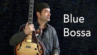Blue Bossa - Achim Kohl - Jazz Guitar Improvisation with Tabs