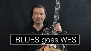 Blues goes Wes - Jazz Blues in Bb - Achim Kohl, Jazz Guitar + Tabs