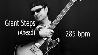 Giant Steps (Ahead) - Fast Bebop 285 BPM - Jazz Guitar Solo with Tabs