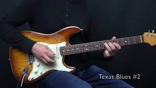 "Texas Blues 1 + 2 from my book ""Bluesmans Corner 1"" - Achim Kohl"
