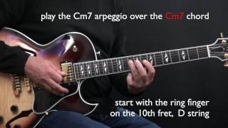 Bb Jazz Blues - Easy Jazz Guitar Lesson by Achim Kohl - Part 1