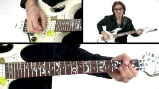 Steve Vai Guitar Lesson - Erotic Nightmares - Alien Guitar Secrets: Passion & Warfare