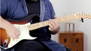 12 Bar Blues in the Style of Stevie Ray Vaughan Lesson