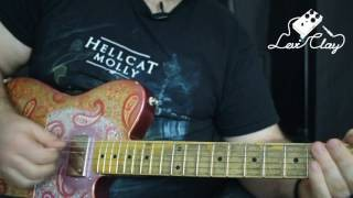 Complete Country Guitar Solo Lesson - Albert Lee to Brad Paisley!
