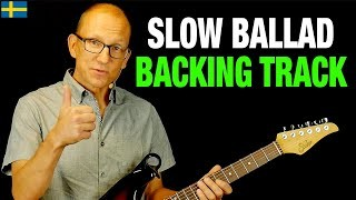 Slow Ballad Backing Track - Key of C Major