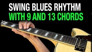 Swing Blues Chords Guitar Lesson E13 A9 B9