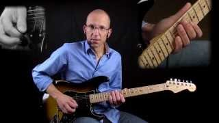 Stretching The Blues Lesson #1 - Adding Major 3rd to Minor Pentatonic
