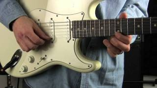 Blues Rock Guitar Lick lesson (fast)