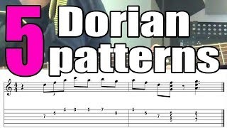 5 Dorian Jazz Guitar Licks For Beginners