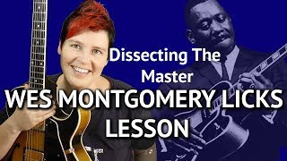 WES MONTGOMERY LICKS - GUITAR LESSON + TABS!