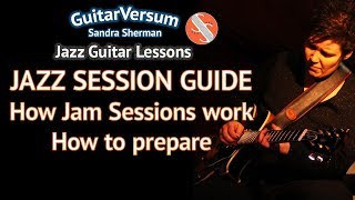 JAZZ SESSIONS GUIDE - Tips for your 1st JAZZ JAM SESSION