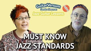 MUST KNOW JAZZ STANDARDS - Famous Jazz Songs List