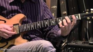 Vic Juris - Jazz Guitar Comping Masterclass 1