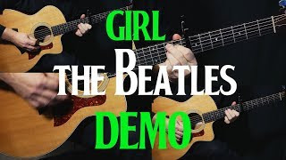 "how to play ""Girl"" on guitar by The Beatles 