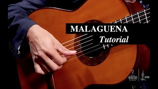 Malaguena - Classical Guitar Tutorial Part 1/7 - EliteGuitarist.com