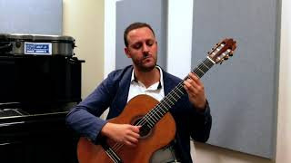 "Barrios: La Catedral, 1st movement ""Preludio"" - Tariq Harb, Guitar"