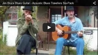 Blue Acoustic Guitar - 'Livin' With The Blues' - Acoustic Blues Travelers