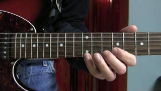 Blues lick BB King style