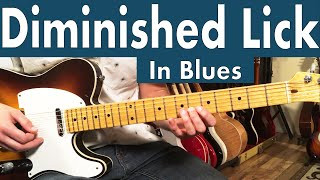 How To Use The Diminished Scale In The Blues | Advanced Soloing Ideas For Guitar