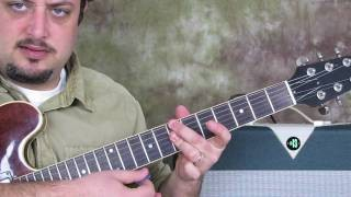How to Play Jazz Guitar : Walking Bass Chord Comping in Jazz Guitar marty Schwartz