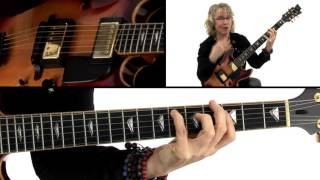 Bebop Etudes Guitar Lesson - Petite Tournesol Breakdown - Sheryl Bailey