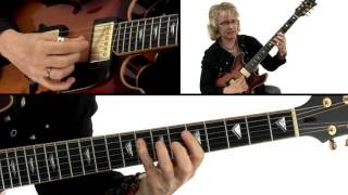 Bebop Etudes Guitar Lesson - Reflections One Breakdown - Sheryl Bailey