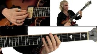 Bebop Etudes Guitar Lesson - Reflections One Performance - Sheryl Bailey