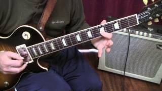 Blues Basics Major 3rd to Minor 3rd Licks in A