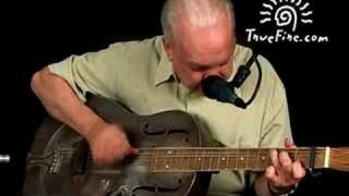 Country Blues Guitar Lesson - Down The Dirt Road Blues - Paul Rishell