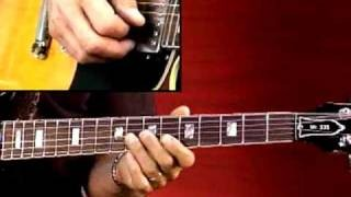 Blues Guitar Lesson - Larry Carlton - 335 Blues - Jazzed Blues in Bb: Soloing