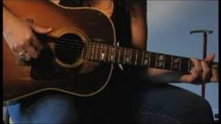 Free Guitar Lessons: Country Blues Fingerpicking : How to Thumb the Baseline in Blues Fingerpicking