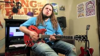 Country Solo + Blues Rhythm Guitar Lesson inspired by Albert Collins