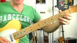 Back In Black - ACDC ★ How To Play - Electric Guitar Riff Lessons - Rock Guitar Tutorial