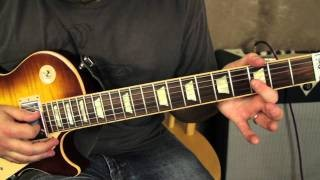 Allman Brothers Band - Warren Haynes - Soulshine - Blues Rock Guitar Lesson - How to play the intro