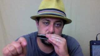 How to Play Blues Harmonica - Blues Harp - Beginner Lesson