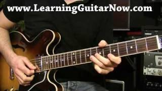 Eric Clapton Blues Guitar Lesson