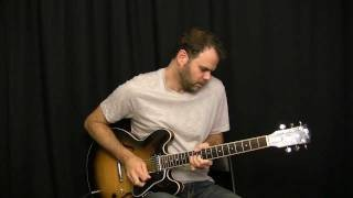 Blues Guitar Solo - Just Jammin' Around