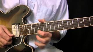 Slow Blues Lick in G Lesson