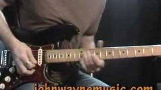 Learning Blues guitar: A blues guitar lesson on SRV